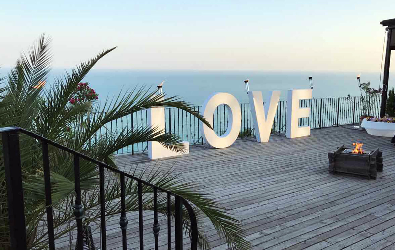Beautiful view at El Balcon del Mundo